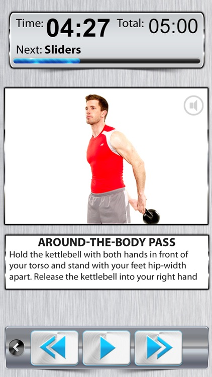 KettleBell Workout 360° FREE HD - Dumbbell Exercises Cross Trainer screenshot-0