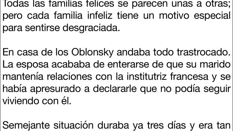 Ana Karenina en español screenshot-4
