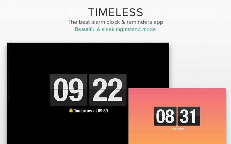 Timeless - Alarm Clock & Reminders Screenshots