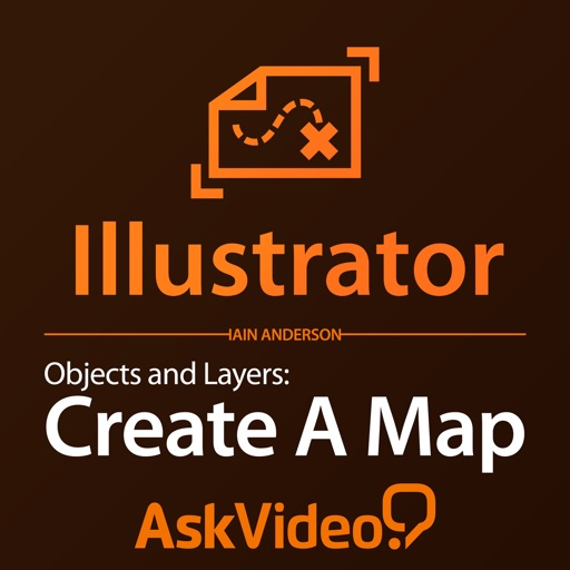 AV for Illustrator CC 102 - Objects and Layers - Create A Map iOS App