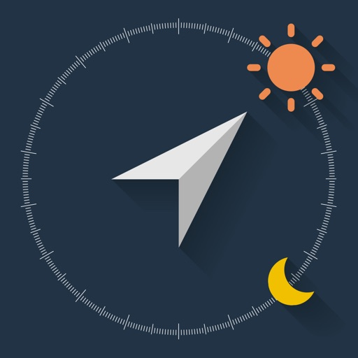 SunLocation - Current position and altitude of the Sun and Moon -