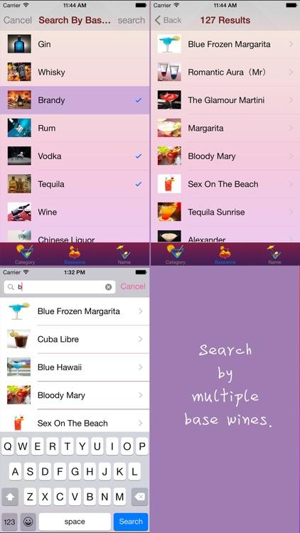 Cocktail drinks: recipes & image screenshot-3