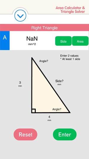Area Calculator & Triangle Solver - Quadrilateral, Circle, Ellipse,  Rectangle