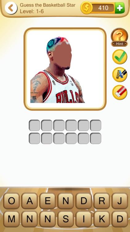 Guess the Basketball Star (Basketball Player Quiz) screenshot-4