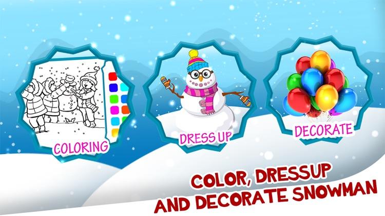 Christmas Snowman Maker