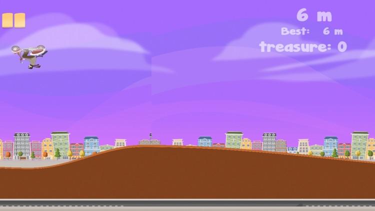 Vespa Dude - Free Bike Race Mill screenshot-3