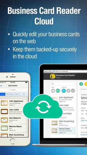 Business card reader pro on the app store iphone screenshots reheart Gallery