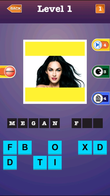 Popular Celebrity Trivia Quiz - Guess The Name Of Movie Actress