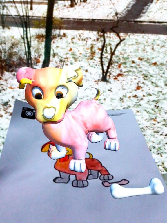 ARKids - AR 女の子のための着色ページ。 3D効果は、現実のゲームを増強します。ねこあつめ 無料.のおすすめ画像4