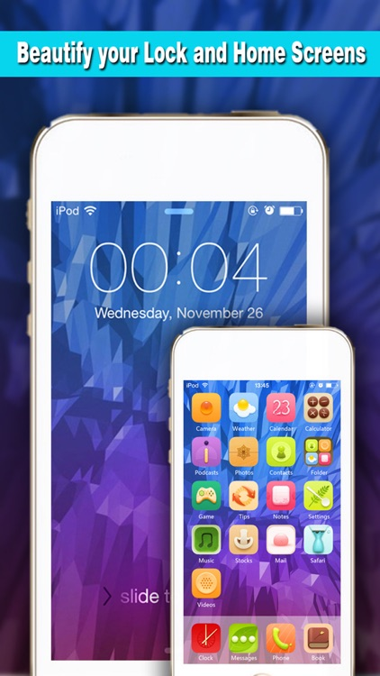 Magic Screen Pro - Wallpapers & Backgrounds Maker with Cool HD Themes for iOS8 & iPhone6 screenshot-3