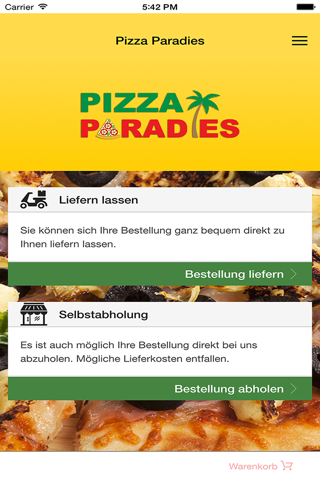 Pizza Paradies - náhled