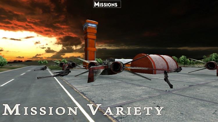 Battle of Earth. Space Wars - Galaxy Starfighter Combat Flight Simulator screenshot-3