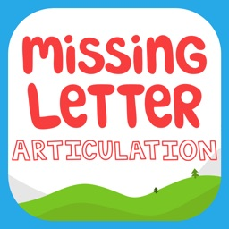 Missing Letter Articulation for Speech Therapy