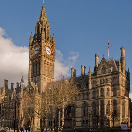 Manchester Tour Guide: Best Offline Maps with Street View and Emergency Help Info icon