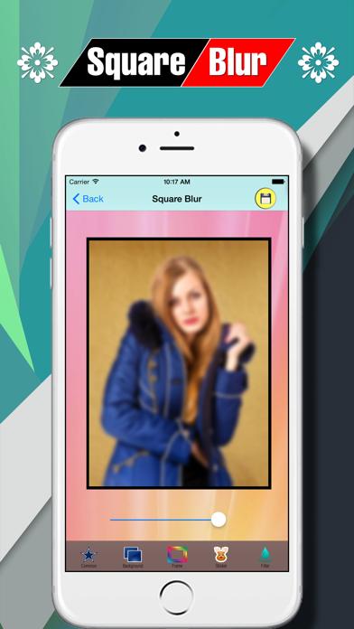 Square Blur Photo Effect screenshot four