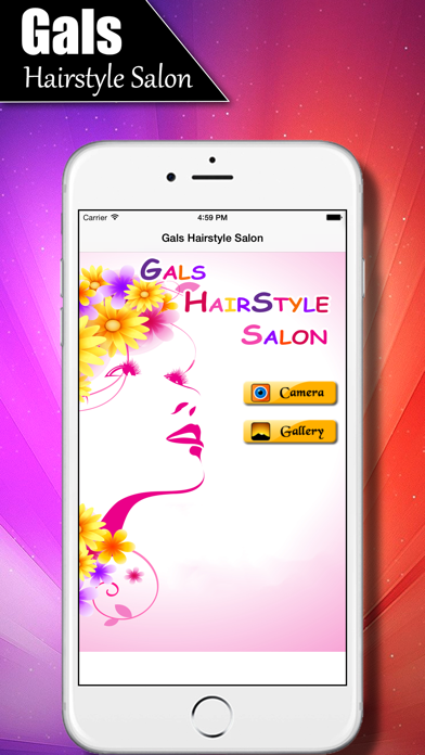 Girls Salon - Women's Hairstyles Fashion Gallery screenshot one