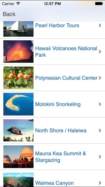 Hawaii Attractions screenshot-4