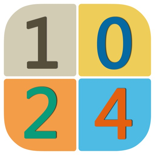 1024 number game HD - math brain trainor
