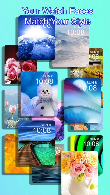 iFace for Apple Watch - Custom your watch background wallpaper screenshot-3