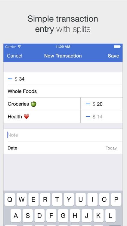 Savings – Simple Checkbook, Money Tracker