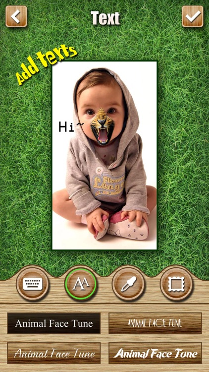 Animal Face Tune - Sticker Photo Editor to Blend, Morph and Transform Yr Skin with Wild Animal Textures screenshot-3
