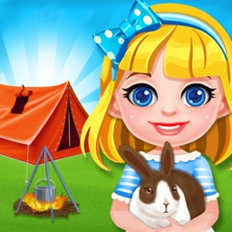 Summer Camp Party! Kids Scout Adventure