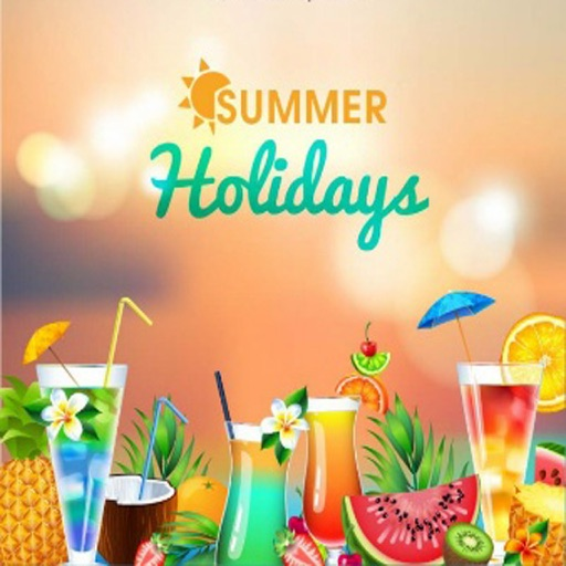 Happy Summer Greeting Cards icon