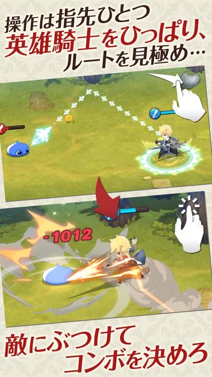 ファンタジースリングRPG フィンガーナイツ screenshot-3