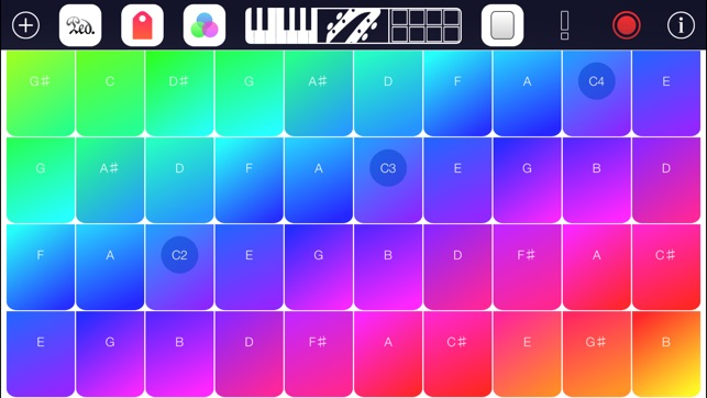 Simple Music Amazing Chords Creation Keyboard App With Free Piano