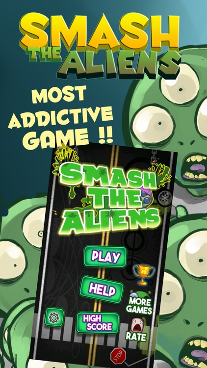 Smash the Aliens: Earth Invasion screenshot-0