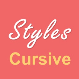 Cursive Writing HD Styles