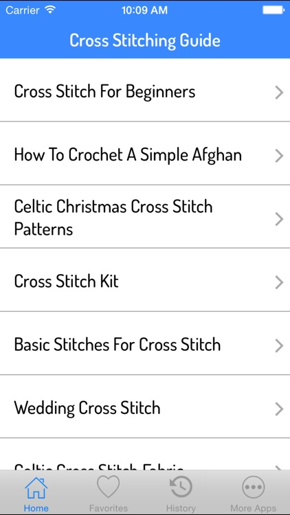 Cross Stitching Guide
