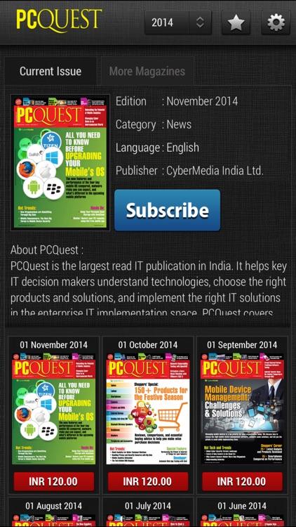 PCQuest Magazines