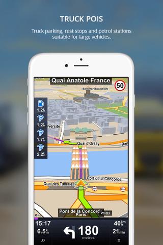 Sygic Truck GPS Navigation - náhled