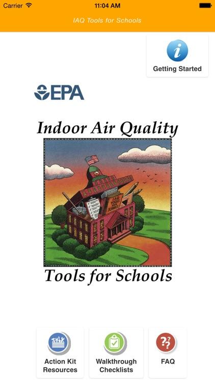 EPA Indoor Air Quality Tools for Schools