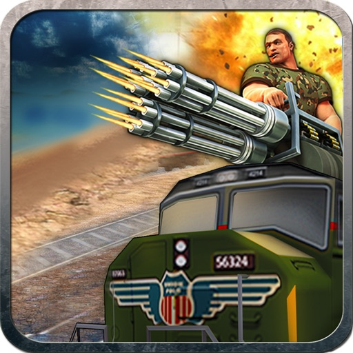Island Train Shooter 3D icon