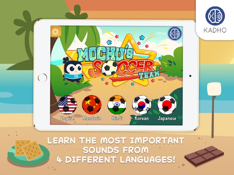 Mochu's Soccer Team - Interactive Ebook for Babies and Toddlers screenshot-2