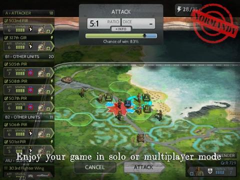 Wars and Battles - Пошаговая стратегия Wargame для iPad