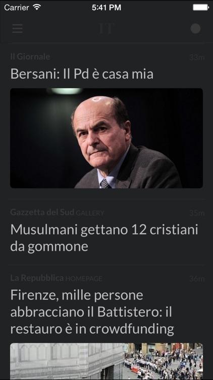 Giornali IT - I giornali più importanti d'Italia screenshot-4