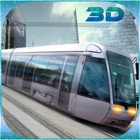 City Tram Driving Conductor Sim 3D icon