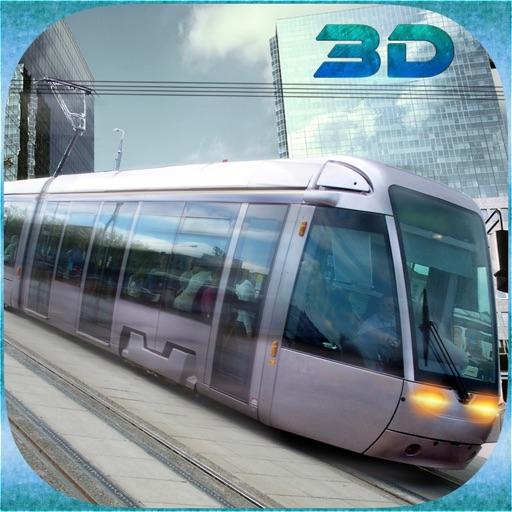 Город Трамвай вождения Дирижер Сим 3D