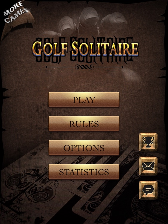 Golf Solitaire iPad edition