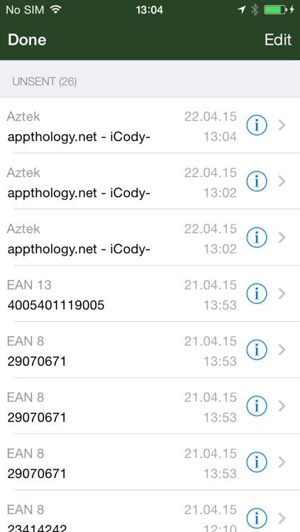 iCody WiFi Barcode Scanner screenshot-4