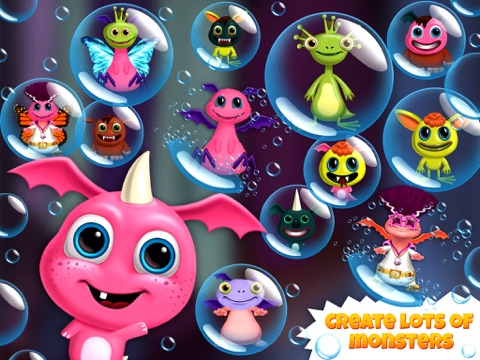 Closet Monsters - Create and Take Care of Your Baby Monster для iPad