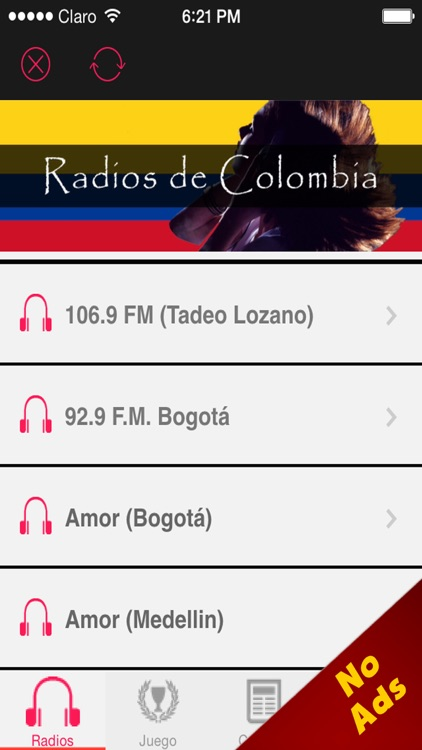 'A Colombia Radio Stations Online: NO ADS - The Best Internet Radios in AM  and FM with all kind of music by Sonia Arias Ramirez