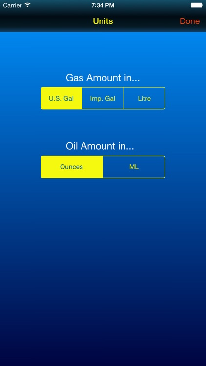 Gas Mix - 2 Cycle Fuel Mix Calculator