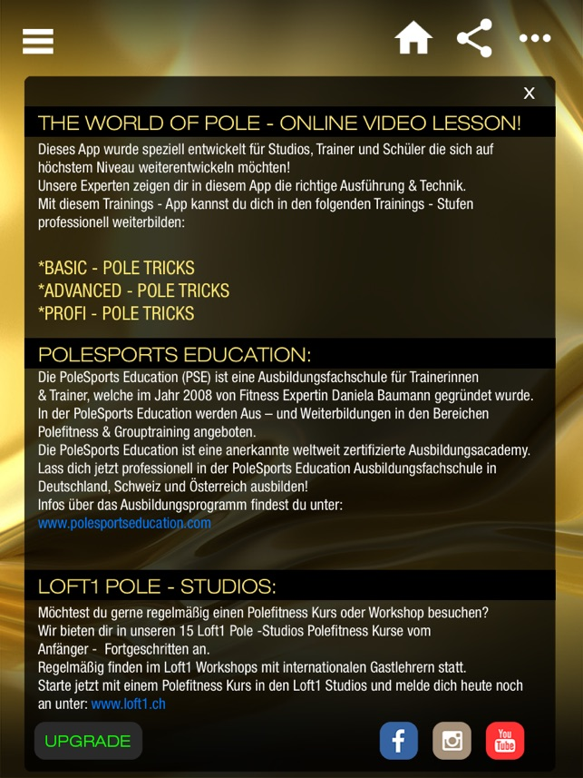 Polesports Education - The World of Pole on the App Store