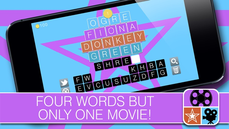 4 Words 1 Movie - find the link and guess the movie