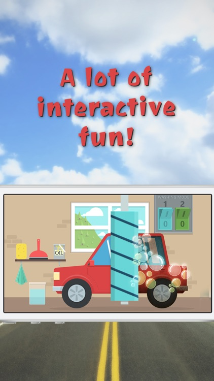 Kids and Toddlers Toy Car Driving Free Game with Car Wash and Mechanics