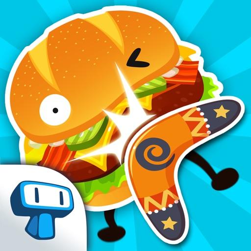 Burgerang - Поражение сумасшедшие гамбургеры с бумерангом
